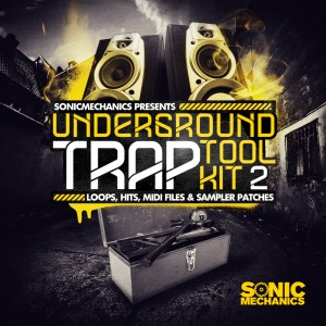 Underground Trap Tool Kit 2 Sample Library, Patches & Midi