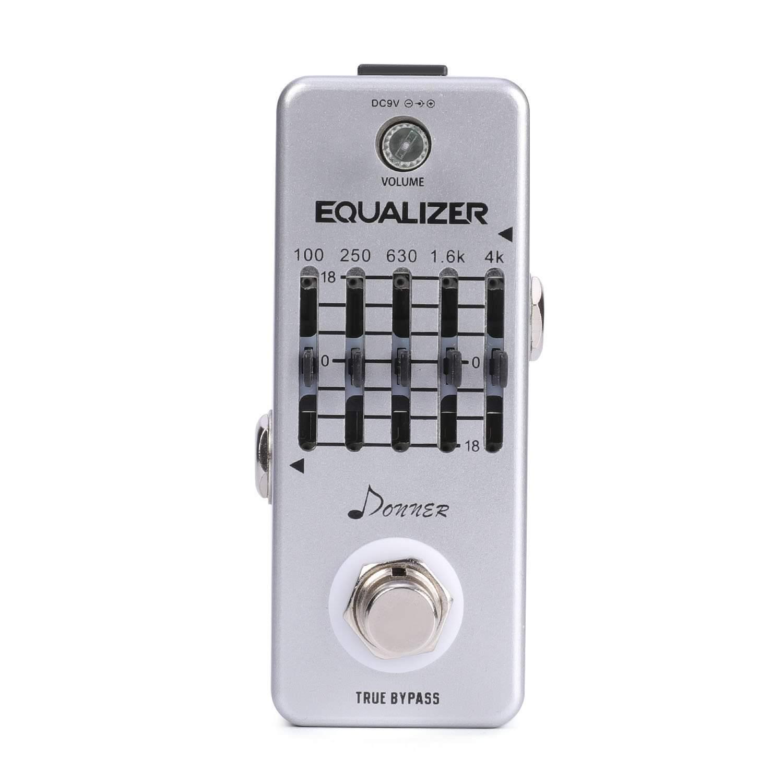 06 donner equalizer pedal 5 band graphic eq guitar effect pedal greg kocis. Black Bedroom Furniture Sets. Home Design Ideas