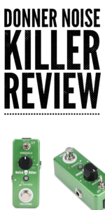 Donner Noise Killer Reduction ★ First Look ★ Mini Guitar