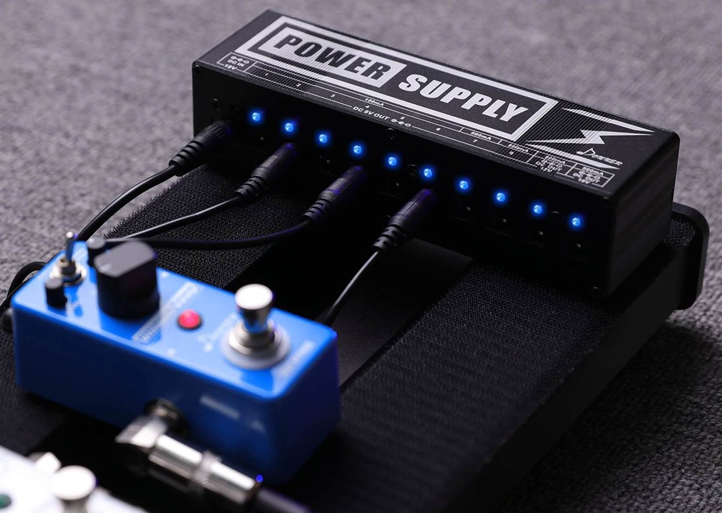 donner dp 2 guitar pedal power supply first look review greg kocis producer songwriter. Black Bedroom Furniture Sets. Home Design Ideas