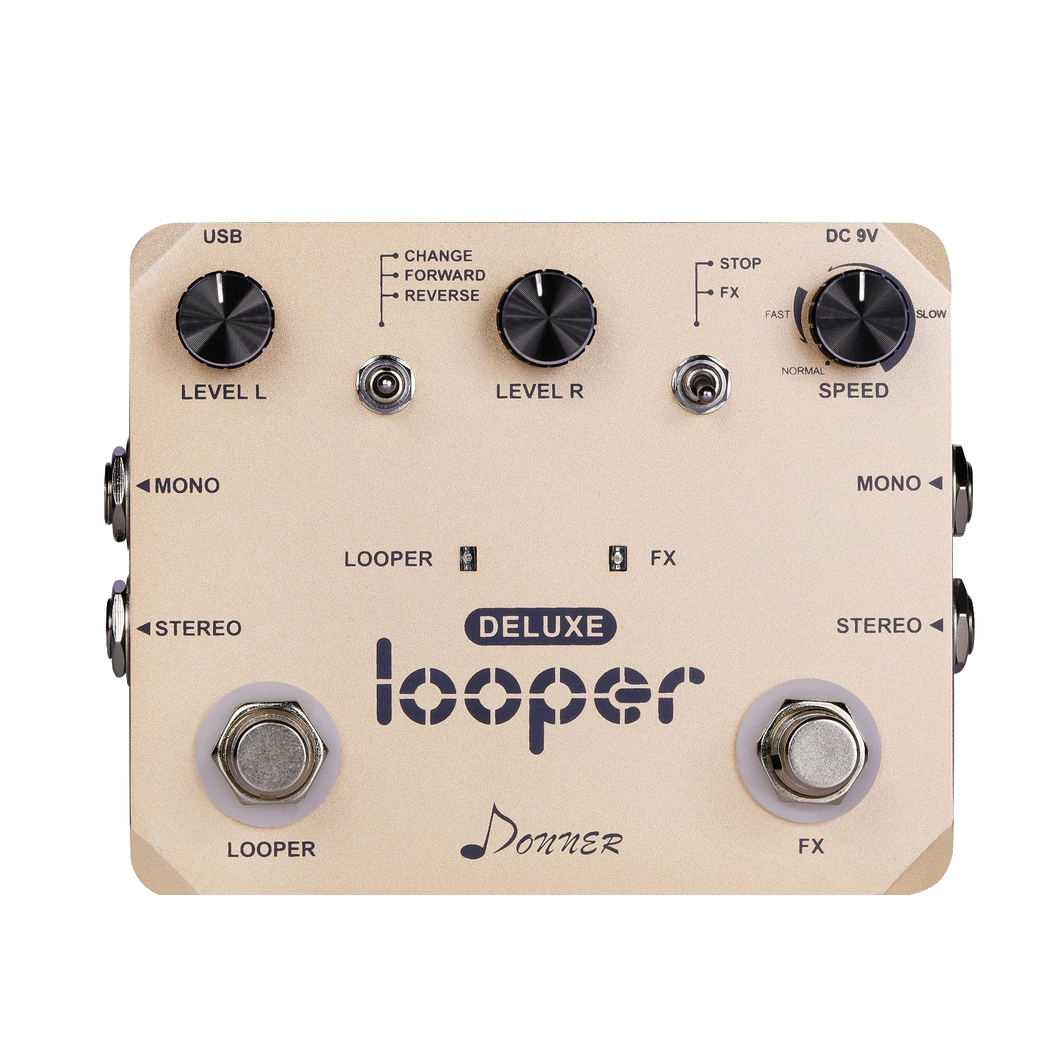 donner deluxe looper guitar pedal first look review greg kocis producer songwriter musician. Black Bedroom Furniture Sets. Home Design Ideas