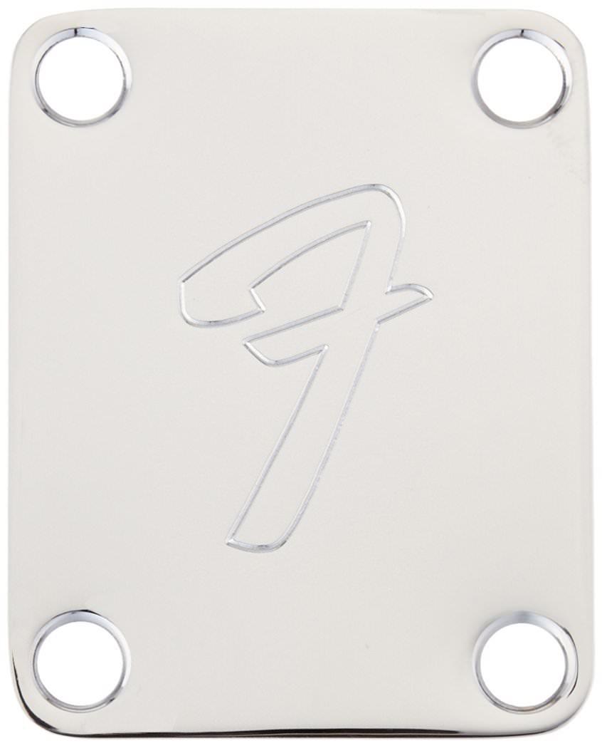 Fender F Logo Neckplate