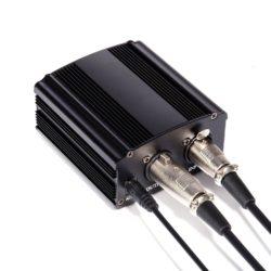 3 Donner Phantom Power Supply 48V 1- Channel for Condenser Microphones Recording Equipment