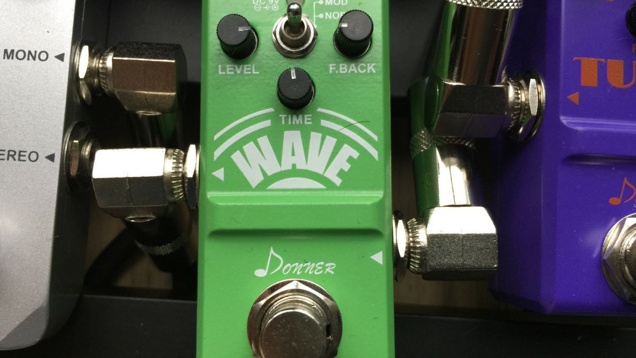 Nano Analog Delay Guitar Effect Pedal Super Mini Wave By