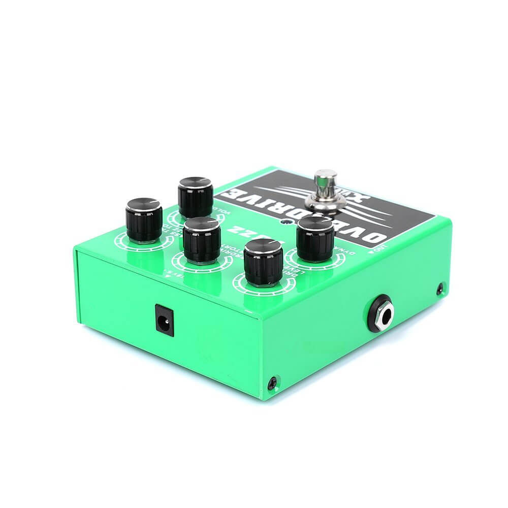 1 xvive overdrive fuzz bass guitar effects pedal w2 greg kocis. Black Bedroom Furniture Sets. Home Design Ideas