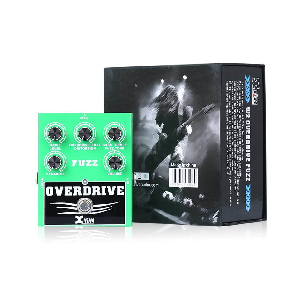 3 xvive overdrive fuzz bass guitar effects pedal w2 greg kocis. Black Bedroom Furniture Sets. Home Design Ideas