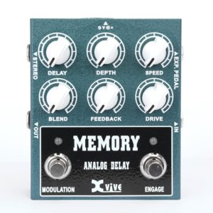 Xvive Analog Delay Guitar Pedal First Look Review