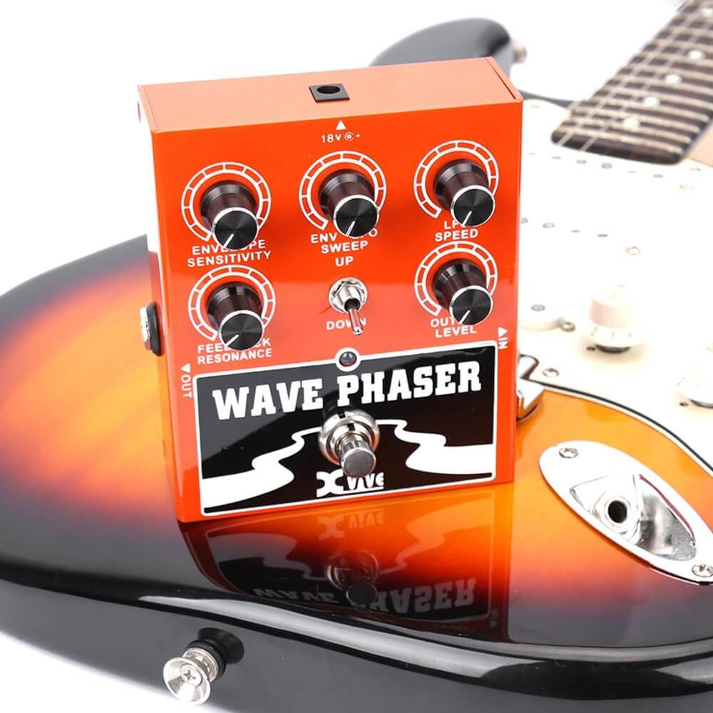 xvive wave phaser bass guitar effects pedal w1 first look greg kocis. Black Bedroom Furniture Sets. Home Design Ideas