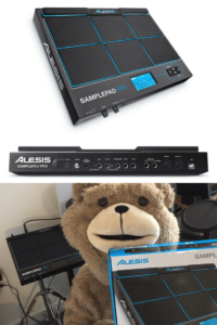 Alesis SamplePad Pro FIRST LOOK 8-Pad Percussion & Sample-Triggering Instrument with SD Card Slot & 5-Pin MIDI In-Out 5