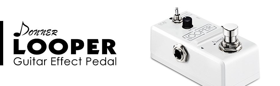 Donner Tiny Looper Guitar Effect Pedal 10 minutes of Looping 3 Modes Post Image-1