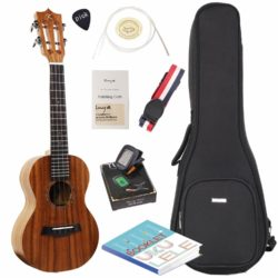 ENYA Hankey Koa Tenor Ukulele Bundle Tenor 26in Review