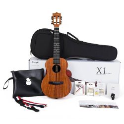 Enya Tenor Electric Ukulele EUT-X1+EQ Review First Look