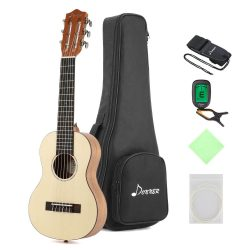 Donner Guitalele Review Guitar Ukulele Package Spruce Mahogany Body