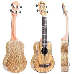 REGIS Soprano Ukulele Review 21 Inch Soprano Ukulele with Aquila Strings, OX Bone Saddle
